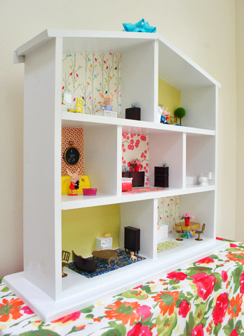 How To Build A Dollhouse (Part 2: Decorating It) | Young House Love