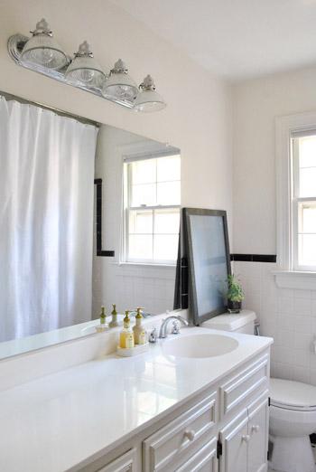 Replacing An Old Bathroom Light
