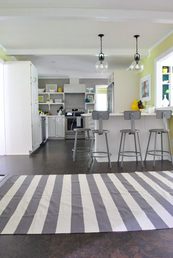 And Now For A Kitchen Rug Fashion Show | Young House Love
