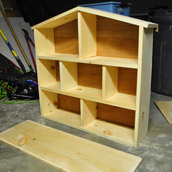 Building A Modern Dollhouse