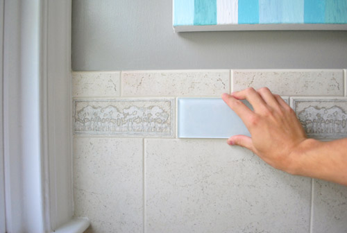 Groovy Removing An Old Shower Tile Border Young House Love Download Free Architecture Designs Lukepmadebymaigaardcom