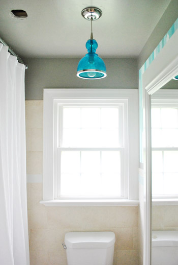 How To Move A Ceiling Light To Center It Young House Love