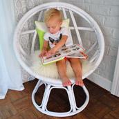 Updating An Egg Chair