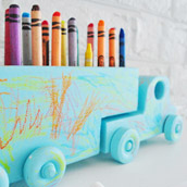 Updating A Crayon Holder