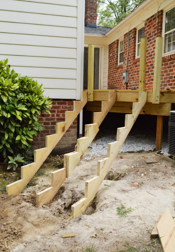 How To Build A Deck Its Done Young House Love