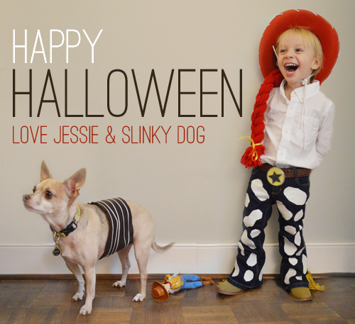 Homemade Jesse Slinky Dog Costumes From Toy Story Young House Love