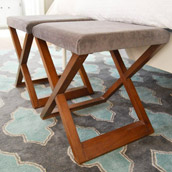 Turning Tables Into Ottomans