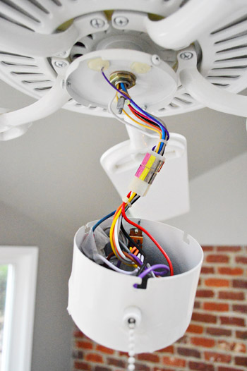 Wire Ceiling Fan With Light Kit Theteenlineorg