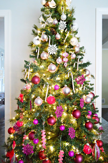Holiday Decorating Idea An Ombre Grant Christmas Tree
