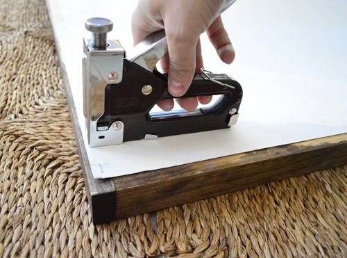 Making Easy Wood Frames For Large Art Or Posters Young