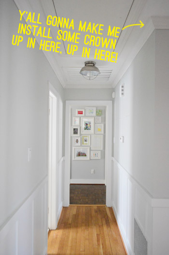A How To Video For Hanging Crown Molding Young House Love