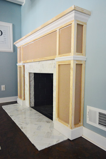 Phenomenal Our Fireplace Makeover Building A New Mantel Young House Love Interior Design Ideas Clesiryabchikinfo