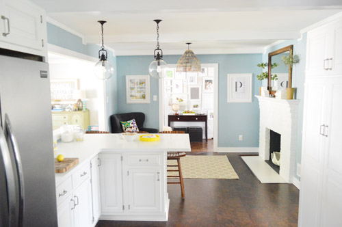 light blue paint colors for kitchen we re back to painting rooms again house 9689