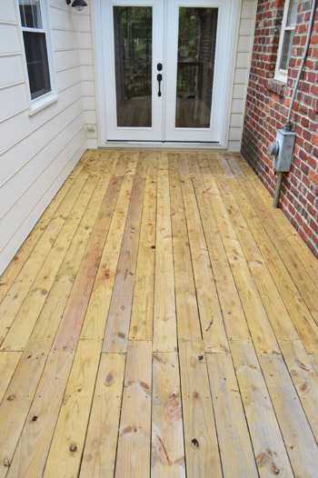 Staining Sealing The Deck Finally Young House Love