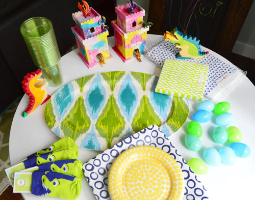 There S A Dragon Birthday Party In The Works Young House Love