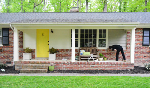 Painting Our House S Exterior Siding