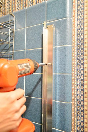 How To Remove An Old Sliding Shower Door | Young House Love
