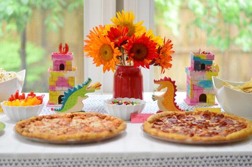 Dragon Themed Third Birthday Party