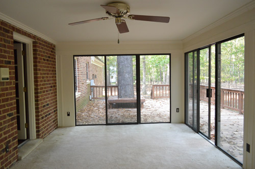Open Er Up Converting A Sunroom Into Veranda