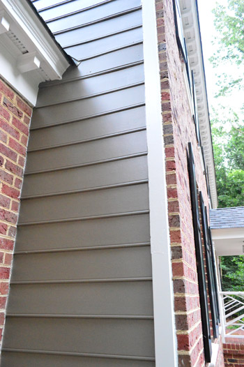 Picking A New Siding Color Updating