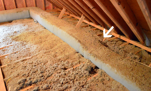 how to run a new cable wire young house love cooling an attic house wiring an attic #3