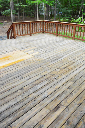 How To Strip Clean A Deck For Stain