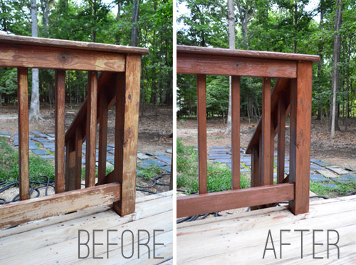 How To Stain And Seal A Deck | Young House Love