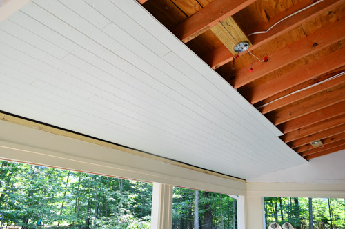how to install a wood plank ceiling young house love rh younghouselove com