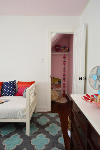 A Soft Pink Ceiling For Our Daughter S Room Young House Love
