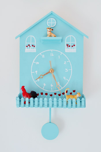 Captivating Weekly Crafty: Making A Playful Kid Clock