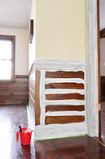Dark Wood Paneling: Painting Dark Trim & Paneling In The Kitchen