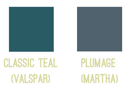 Teal After Seeing The Swatch But On Right We Put For Plumage Which Is Actually What Used In Our Guest Room