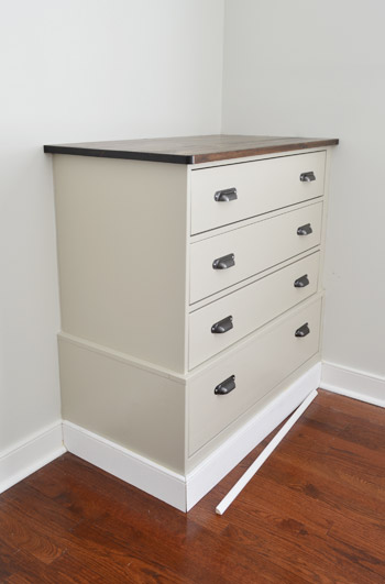 Turning Store Bought Dressers Into Bedroom Built-Ins | Young ...