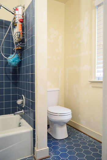 Bathroom Plans & How To Strip Wallpaper (What Worked Best) | Young House Love
