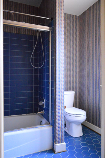Adding Color And Trim To A Bathroom Ceiling Young House Love