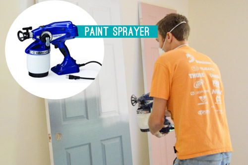 must have power tool for DIY paint sprayer
