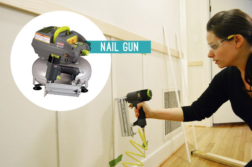 must have power tool for DIY nail gun