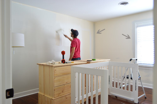 Neutral Paint Color For The Nursery