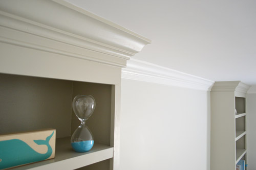 Adding Crown Molding To A Room And Some Built Ins