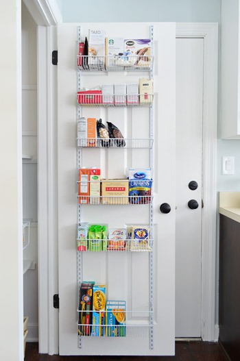over the door kitchen storage adding tons of pantry storage amp function house 7257