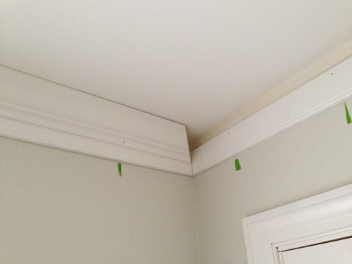 Adding Crown Molding To A Room And Some Built Ins Young House Love