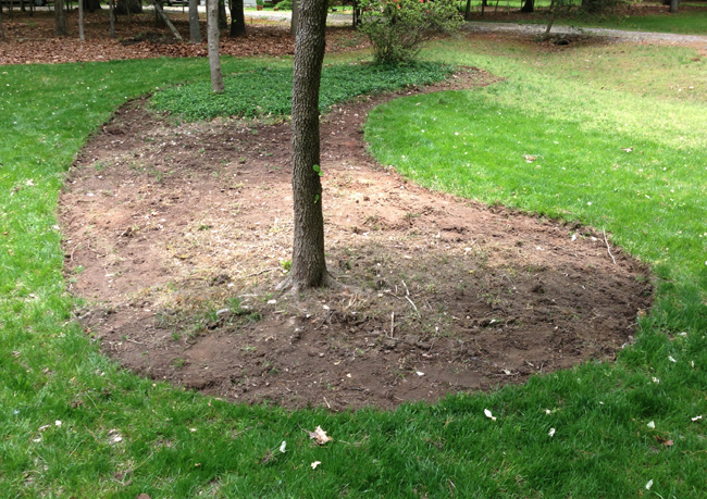 Carving Out Mulch Beds Young House Love