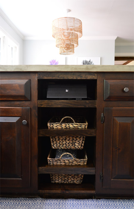 Adding Diyed Pull Out Basket Drawers In The Kitchen Young House Love