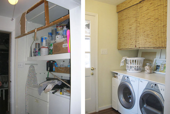 Our Laundry Room Redo Is Officially On