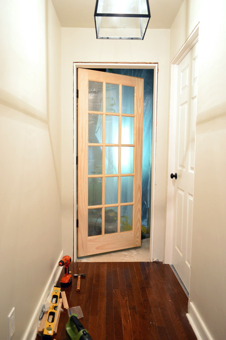 That's My Jamb (aka: How To Hang A Door) | Young House on