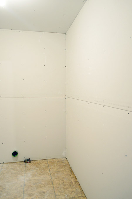 How To Hang Drywall By Yourself | Young House Love