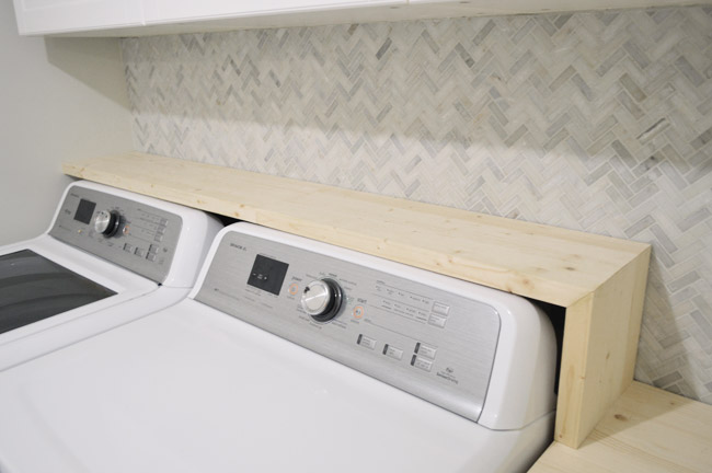 Update Some Questions Came In About What Hens If We Get A New Washer Dryer Someday And Need Shelf Placement More Tile